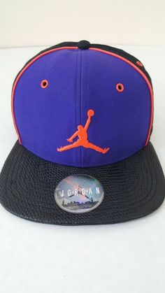3cc114addc47 Jordan Retro 2 Iron Purple Black Infrared Jumpman Snapback Hat Cap  fashion   clothing  shoes  accessories  mensaccessories  hats (ebay link)