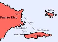 It's easy to get from Puerto Rico to Vieques