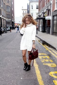 Chunky jumper dresses are perfect for the Autumn/winter, I need some more warmer clothes.