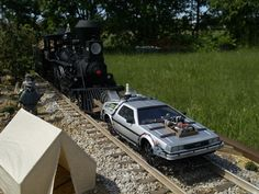"""Diorama of Scene from: """"Back to the Future Part III"""