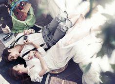 Korea Pre-Wedding Studio Photography by May Studio on OneThreeOneFour 1
