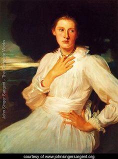 Katharine Pratt I - John Singer Sargent - www.johnsingersargent.org