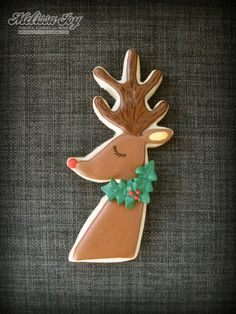 retro reindeer by melissa joy
