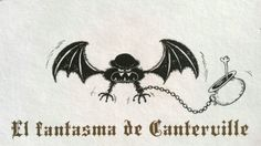 "Illustration by Oscar Esteban Conti for Oscar Wilde's ""The Canterville Ghost"".  2012 (c) Libros del Zorro Rojo."