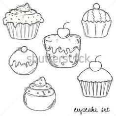 getekende taart - Google zoeken
