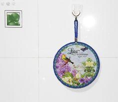 Ceramic Art Print Drink Coasters Set of 4 Home Decor Cup Drink Holder Mats Birds | eBay