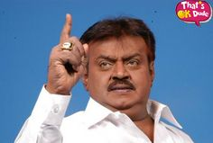 Vijayakanth Strikes Back. This time he spitted on a Journalist.