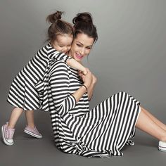 New 2015 baby and mom dress,girl dress,Family look,women kids pajamas,children clothing,stripe,Family Fitted,family clothing #clothing,#shoes,#jewelry,#women,#men,#hats,#watches,#belts,#fashion,#style