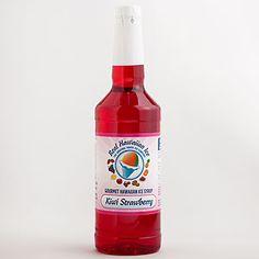 Real Hawaiian Ice Kiwi Strawberry Syrup | Drink| Food & Drink | World Market
