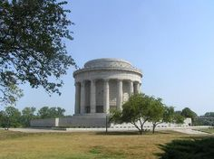 Vincennes Indiana   George Rogers Clark Memorial, located on grounds of Fort Sackville and Wabash River.