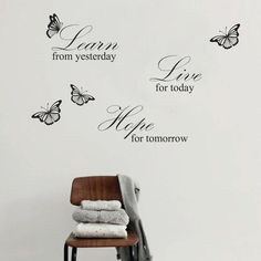 Live Hope Quote Grey Wall Decal - at AllPosters.com.au
