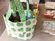Love these fabric bags!