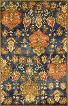 Kas Oriental Syriana Tapestry Navy Rug