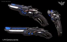 ArtStation - LawBreakers - Romerus Shotgun, Elliot Sharp