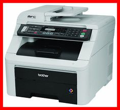 BROTHER MFC-9120CN Printer w/ NEW Toners / DRUMS -- Totally CLEAN -- REFURB !!!