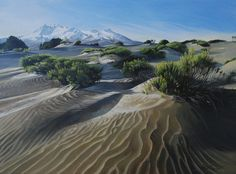 Artfind.co.nz - Artwork - Desert Landscape by Adele Souster