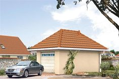 Projekt domu Malutki dr-S 79,48 m2 - koszt budowy 199 tys. zł - EXTRADOM Bungalow House Plans, Bungalow House Design, Country Modern Home, Facade House, Home Design Plans, Wood Construction, Planer, Gazebo, Sweet Home