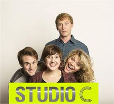 "BYUtv brings a new comedy to its programming this fall, ""Studio C,"" featuring four ""Divine Comedy"" comedians: Whitney Call, Mallorey Everton, Jason Grey and Matt Meese. Studio C Youtube, Byu Tv, Jason Gray, New Comedies, Comedy Show, The Funny, Comedians, Movies And Tv Shows, I Laughed"