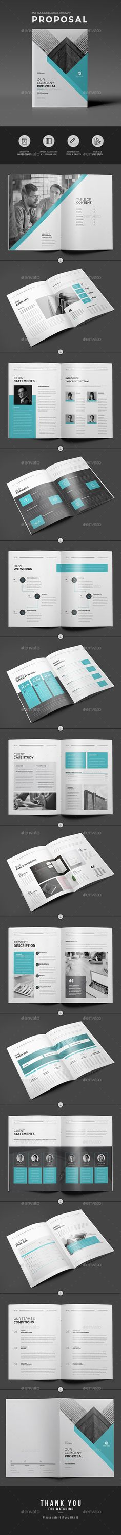 Proposal Proposals, Proposal templates and Brochures - professional proposal templates