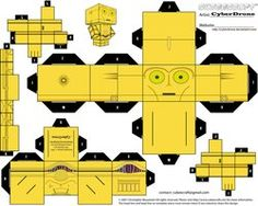 Cubee Craft of almost every single Star Wars characters. NEAT LINK for papertoys lovers ===