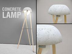 Picture of Concrete Lamp - DIY