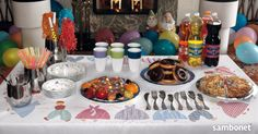 """Children's party - """"Le Tavole"""" by Sambonet Table Settings, Party, Inspiration, Biblical Inspiration, Place Settings, Parties, Inspirational, Inhalation, Tablescapes"""