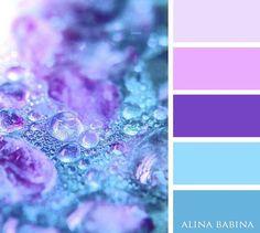 Light Blue and Purple Colour Palette Color Schemes Colour Palettes, Colour Pallette, Color Palate, Purple Color Schemes, Color Combinations, Purple Palette, Plum Color, Design Seeds, Colour Board