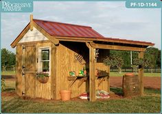 The Potting Shed - I want to make out of pallets.