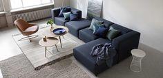 Diseño interior nórdico de BoConcept