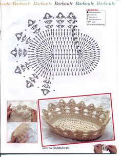 Crochet Baskets: free pattern