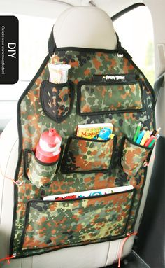 Auto opbergzak maken | Moodkids Kids Corner, Diy For Kids, Sewing Crafts, Sewing Patterns, Road Trip, Projects To Try, Lunch Box, Bags, Vw