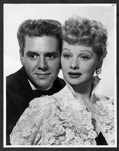 A Handsome Couple Desi Arnaz and Lucille Ball