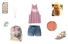 """""""Untitled #135"""" by missyt123 on Polyvore featuring RVCA, LE3NO, Milani, Sam Edelman, Casetify, Elements and Mi-Pac"""