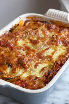 ravioli uit de oven met mozzarella en Parmezaanse kaas