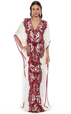 The Caftan Collection  Trunkshow Look 11 on Moda Operandi