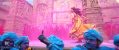 Deepika's running pose from the movie ram leela