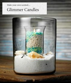 Glimmer Candles -  New for Spring from Pink Zebra  - Beautiful!