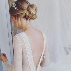 Espaldas de plumeti <3 Vestido de Paredero Quirós.
