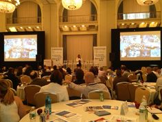 @Kaellyn Marrs Rocha CEO of @eCGlobal Solutions giving her presentation at #iiex North America