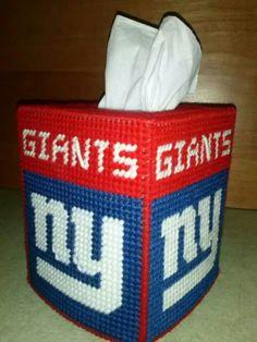 New York Giants Tissue Box Cover