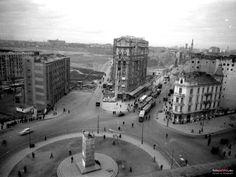 Warszawa - plac Unii Lubelskiej (końcówka lat 40. XX w.)