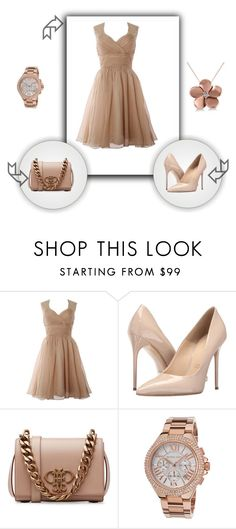 """dress"" by lejlacergic ❤ liked on Polyvore featuring Massimo Matteo, Emilio Pucci, Michael Kors and Allurez"