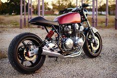Cafe Racer Pasión — Honda CB750 Brat Style - Charlie James Customs |...