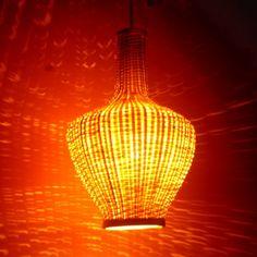 Bamboo lamps... beautiful!