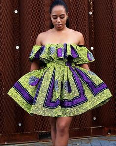 Dear Fashion Savvy Ladies, We are writing to let you know that kente has come to impress us with amazing designs. Kente is not as common as Ankara which makes it an appealing fabric. African Dresses For Women, African Print Dresses, African Attire, African Fashion Dresses, African Wear, African Women, African Prints, African Style, Ankara Fashion