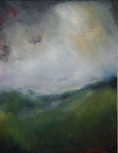 Mountain High by Karen Keil Brown (oil, 40 × 30 inches).  Asheville, NC