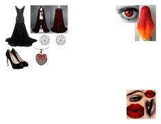 """""""Creepypasta OC #1: The Huntress"""" by bloodyrose130 ❤ liked on Polyvore featuring GUESS, Accessorize and Lord & Taylor"""