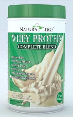 Whey Protein Complete Blend was created to fill a niche in the protein market. Natural Edge Whey Protein contains zero artificial flavors and colors, which helps with absorption and muscle recovery.