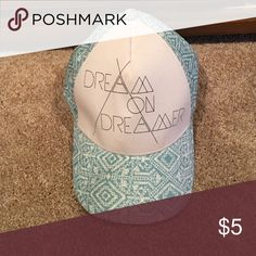 AE Dream On Snapback Dream On hat from AE American Eagle Outfitters Accessories Hats