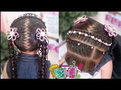 YouTube Diana, Baby Shower, Hair Styles, Beauty, Youtube, Anime, Fashion, Girls Braids, Party Hairstyles